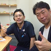 増田院長と鈴木